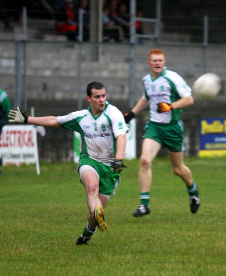 Action from the senior division two match Glenfin.