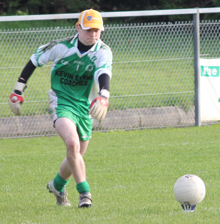 Action from the under 16 Ulster championship semi-final against O'Donovan Rossa.