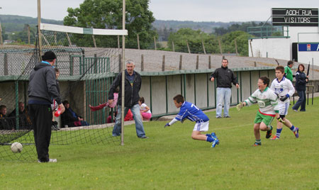 Action from the Willie Rogers tournament.