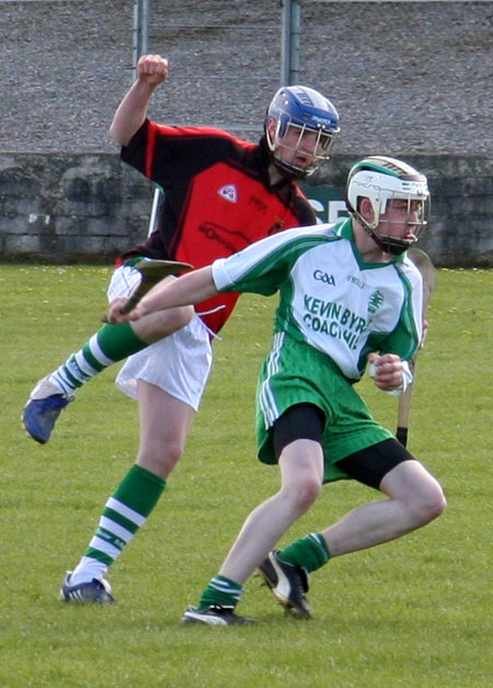 Action from the Alan Ryan - Seamus Grimes tournament.