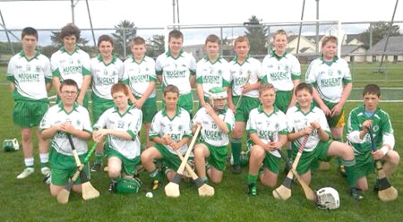 Aodh Ruadh Under 14 hurlers who played in Ballycastle