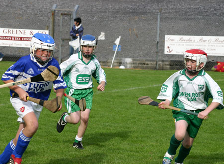Four Masters attack the Aodh Ruadh defence.