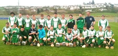 The Aodh Ruadh team which competed at the county Féile finals.
