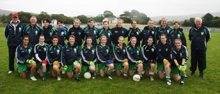 The Aodh Ruadh team which contested the Ladies Intermediate Final.
