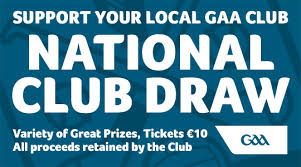 National Club Draw 2019.