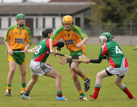 Action from the O'Keefe cup tournament.