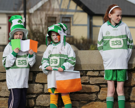 Aodh Ruadh take part in the 2012 Saint Patrick's Day parade.