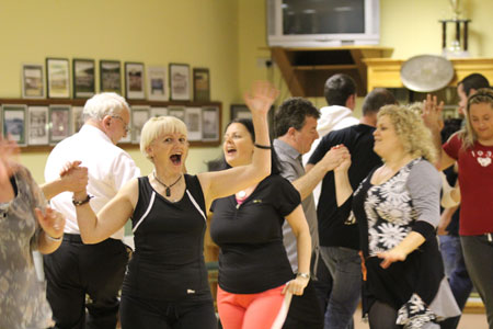 Scenes from Strictly Ballyshannon rehearsals.