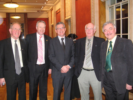Reception for Tom Daly at Stormont.
