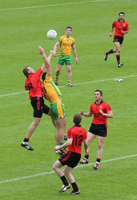 Scenes from Donegal's historic back-to-back Ulster winning performance.